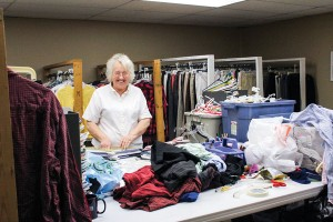 Shirley Herrington helped to found The Helping Hands. She still serves on the board and volunteers several days each week.