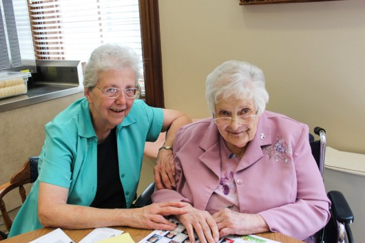 Sister Ann Casper and Sister Mary Michael Lager