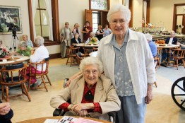 Sister Mary Esther Lane and Sister Joyce Brophy