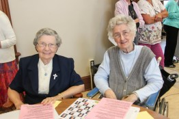 Sister Laurine Haley and Sister Francine McGriffin