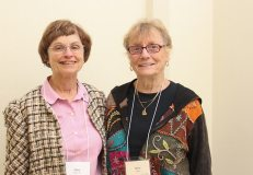 Sister Ellen Kehoe, companion to Providence Candidate-Associate Betty Sloan of Indian Head Park, Illinois.