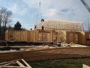 Construction on two new villas at Providence Self-Sufficiency Ministries has already started.