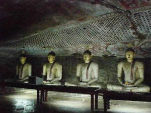 Caves at Dambulla.