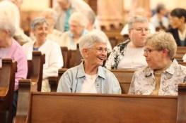 Sister Kathleen Desautels and Sister Rose Ann Eaton