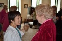 Sister Anji Fan and Sister Marilyn Kofler