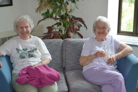 Sister Mary Catherine Guiler and Sister Marie Dennis Lucey