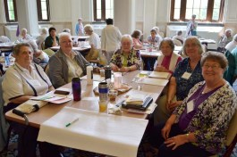 Sisters Jo Paolinelli, Carolyn Bouchard, Marie McCarthy, Mary Catherine Keene, Maureen Fallon, Mary Ann Stewart