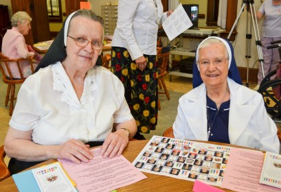 Sister Agnes Maureen Badura and Sister Helen Dolores Losleben
