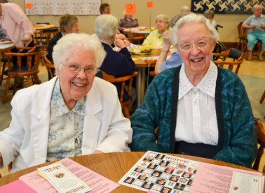 Sister Ann Marie Boyce and Sister Marie David Schroeder