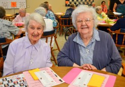 Sister Charles Ellen Turk and Sister Mary Maxine Teipen