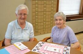 Sister Mary Ann McCauley and Sister Rose Marita Riordan