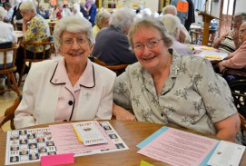 Sister Marilyn Therese Lipps and Sister Martha Wessel