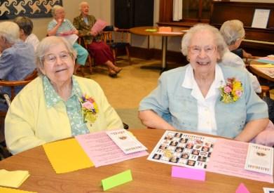 Sister John Mary Rifner and Sister Martha Ann Rifner
