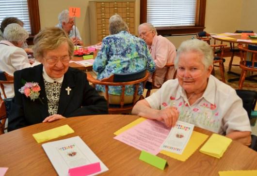 Sister Frances Edwards and Sister Sheila Fitzsimons
