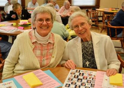 Sister Nancy Bartasavich and Sister Bernadette Mary Carroll