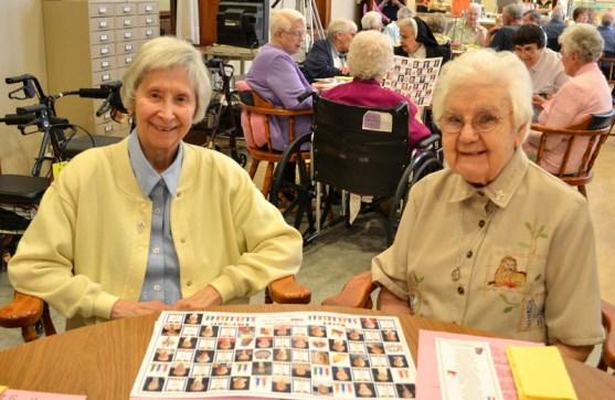 Sister Terese Marie Havlik and Sister Mildred Geiesler