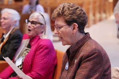Sister Dawn Tomaszewski (right)