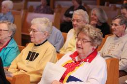 Sisters (front, from left) Joyce Brophy and Kathleen Kelly with (back) Sisters Louise Schroeder and Mary Jo Stewart