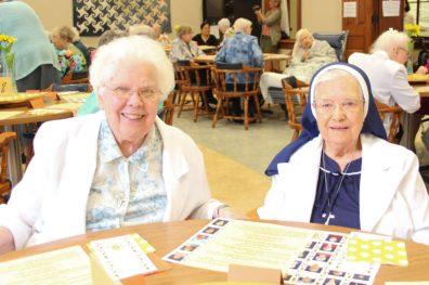 Sister Ann Marie Boyce and Sister Helen Dolores Losleben