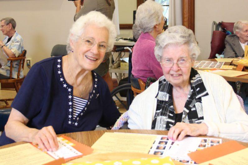 Sister Joan Kirkpatrick and Sister Eugene Francis Keaveney