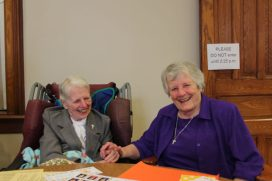 Sister Ann Jeanette Gootee and Sister Teresa Costello