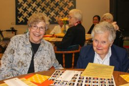 Sister Rose Ann Eaton and Sister Sheila FitzSimons