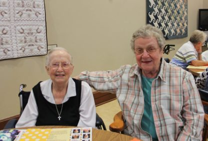 Sister Mary Roger Madden and Sister Alice Ann Rhinesmith
