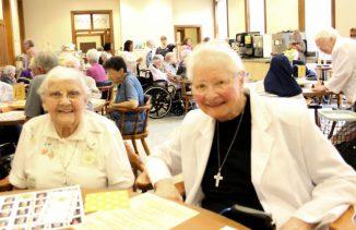Sister Agnes Eugene Cordak and Sister Charles Van Hoy