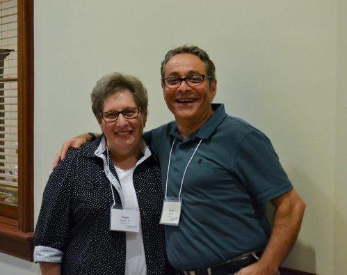Companion Sister Paula Damiano with her Candidate Shawn Shamsaie.