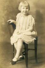 An undated photo of Sister Regina Therese Shaughnessy from her childhood.