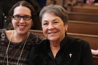 New Providence Associate Kelly Meyer and her sister companion Sister Ann Sullivan.
