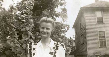 Another undated photo of Sister Marian Ruth Johnson.