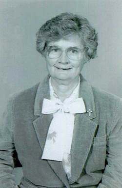 An undated photo of Sister Marian Ruth Johnson.