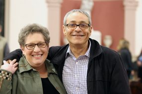 Sister Paula Damiano companions Providence Associate Shawn Shamsaie