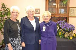 Sister Barbara Ann Zeller, Sister Maria Smith and Sister Joanne Cullins.