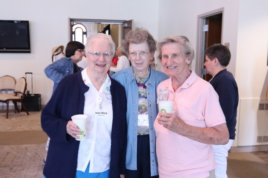 From left, Sister Joan Mary Schaefer, Joseph Ellen Keitzer and Maureen Sheahan.