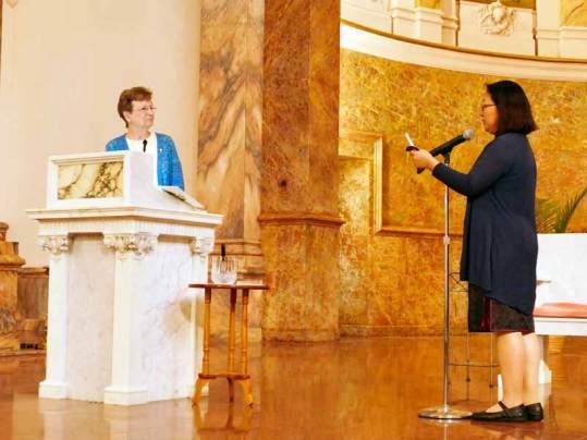 Sister Teresa asks acceptance into the novitiate