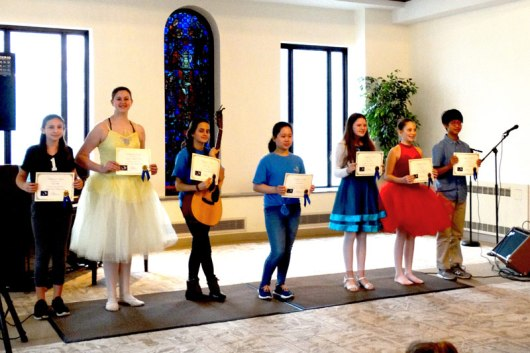 A very talented group of performers!