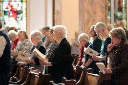 Providence Associates and companions sing and pray
