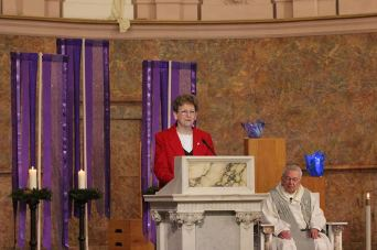 General Superior Sister Dawn Tomaszewski introduces her reflection