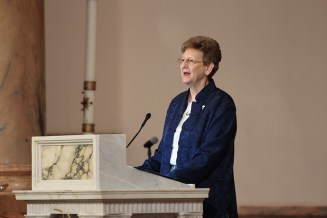 General Superior Sister Dawn Tomaszewski offers a reflection