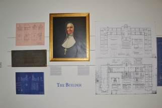 """The """"builder,"""" Mother Mary Cleophas Foley."""
