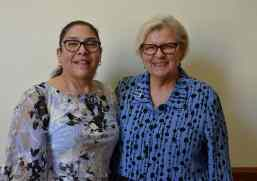 Providence Associate Adriana Gonzales with her companion Sister Susan Paweski
