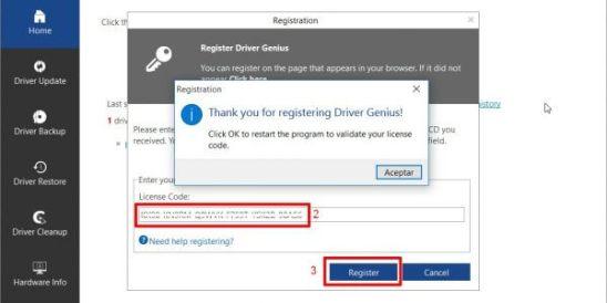 Driver Genius 17 license code
