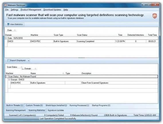 EMCO Malware Destroyer 8.2.25.1140 Crack