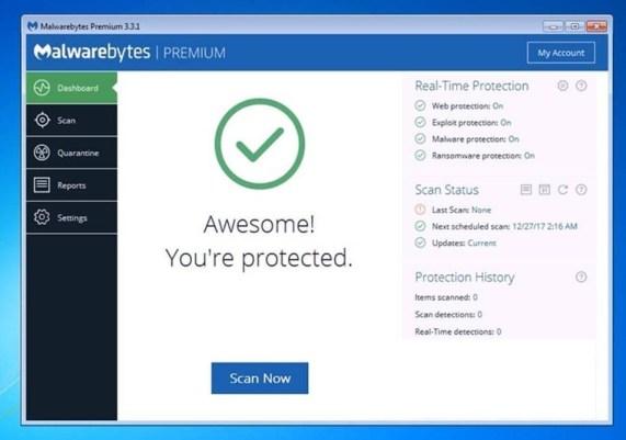 Malwarebytes Premium 3.3.1 Key