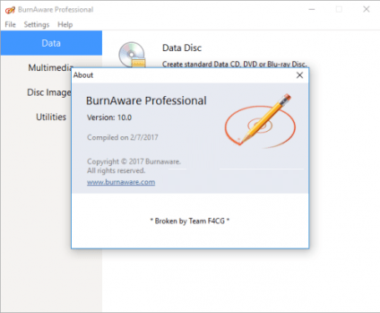 BurnAware Free 11.1 Crack