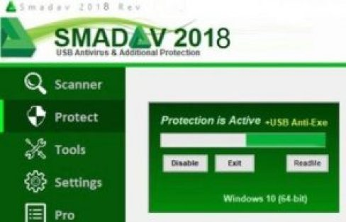 Smadav Antivirus 2018 Rev 11.8 Crack