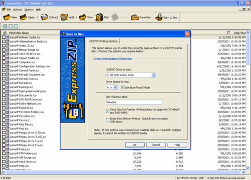Express Zip Free Compression Software 5.04 Crack