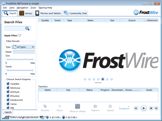 FrostWire 6.6.6 Crack
